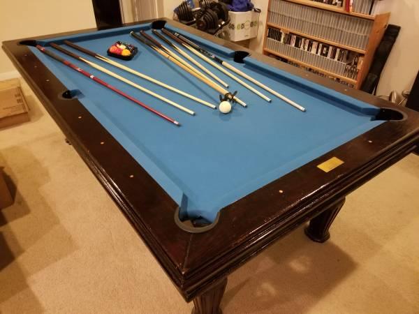 Solo 174 San Antonio Beach Home Billiards Table 35