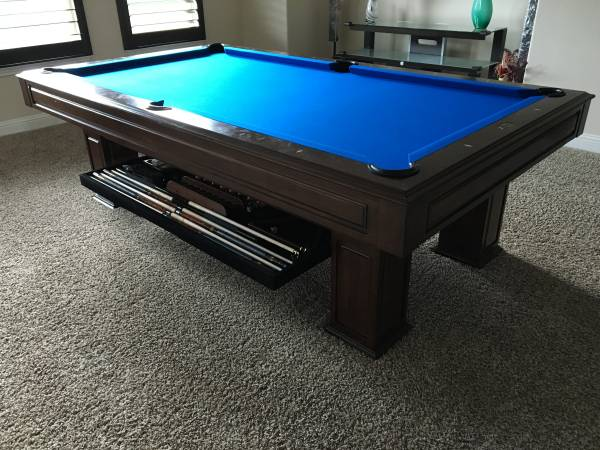 SOLO® - Austin - Landon II Pool Table with Perfect Drawer-63