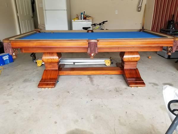 Solo 174 Austin Vitalie Andrew Gille 8ft Pool Table 56
