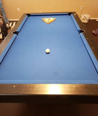 Custom Made 8 foot Pool Table for Sale