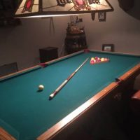 Olhausen Pool Table and Extras