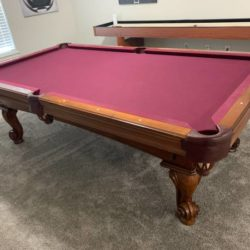 Olhausen Pool Table 8ft - Perfect Condition