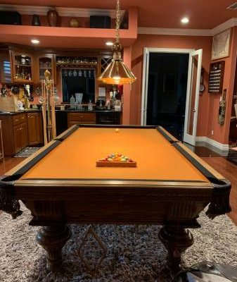 Custom Professional Sized Pool Table