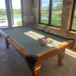 Custom Billiards Table