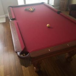 Presidential Pool Table