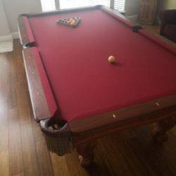 Presidential Pool Table
