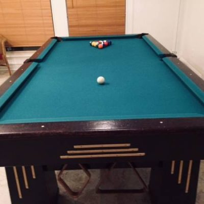 1916 Brunswick 8 ft. Pool Table