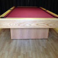 Olhausen Monarch Pool Table in Oak