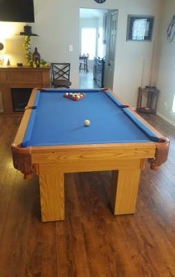 7 Foot Pool Table