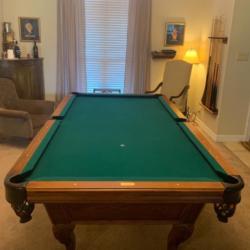 Very nice Custom Boessling Pool Table- made in New Braunfels, TX